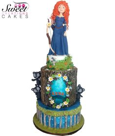 Brave themed birthday cake by Sweet Creations Cakes