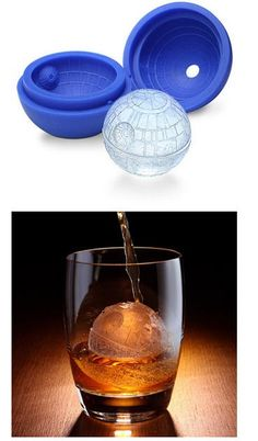 Yes! Death Star Ice Cube Mold for a stocking stuffer