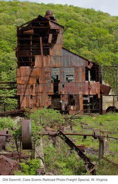 Lumber Mill in Cass, West Virginia