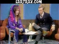 Janis Joplin interviewed on Dick Cavett two months before her death. A Night with Janis Joplin premieres on Broadway this fall.