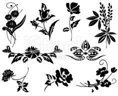 single flower vector - Google Search