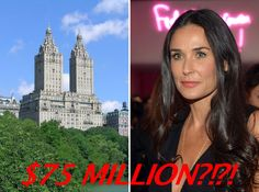 Demi Moore Wants to Sell Her San Remo Triplex for $75M