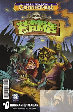Survival is tough after the apocalypse, even when you're undead! Fortunately, the kids of Zombie Camp get to learn all the best shambling, brain-eating, and death-moaning techniques. Join Johnny, Stump, Violet, Gutsy, and the rest of the gang for the summer of their un-lives!
