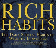 The Habits of the Wealthy - so interesting and so straight forward! Become a Phoenix Trader today at www.JosCards.co.uk - work part time from home, run your own company with as much support available as you want from me and my friendly team!