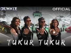 Tukur Tukur Lyrics from Dilwale starring SRK, Kajol, Varun Dhawan, and Kriti Sanon in this song sung by Arijit Singh. Lyrics of Tukur T. Party Songs, Movie Songs, Hit Songs, News Songs, Shahrukh Khan And Kajol, Shah Rukh Khan Movies, Salman Khan, Latest Video Songs, Music Videos