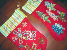 Semi Homemade Christmas Stockings