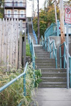 South Side City Steps Pittsburgh Photography