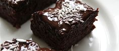 Ooit een gezonde brownie gegeten? Wij hebben hier het recept! De brownie is super lekker en kan prima als snack bij een kopje thee!