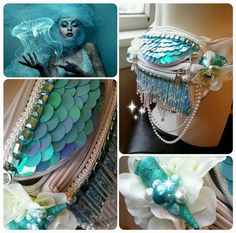 Check out this item in my Etsy shop https://www.etsy.com/listing/219327934/mermaid-fanny-pack