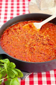 Najlepszy przepis na sos bolognese. Właśnie taki jedliśmy we Włoszech — Kulinarna Polska | Gotowanie i jedzenie Cooking, Ethnic Recipes, Kitchen, Cuisine