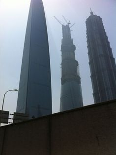 Skyscraper in Shanghai!!!