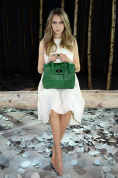 Introducing a new Mulberry creative collaboration with Cara Delevingne, launched at London Fashion Week.
