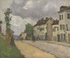 Camille Pissarro - Street in Pontoise (Rue de Gisors)