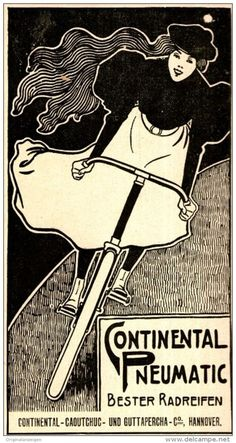 Vintage Travel, Vintage Ads, Vintage Prints, Vintage Posters, Bicycle Illustration, Bike Drawing, Art Nouveau, Bike Poster, Vintage Cycles