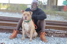 Earl Moffet of Pit Bulls & Parolees  Villalobos Rescue Center pitbull lovin'
