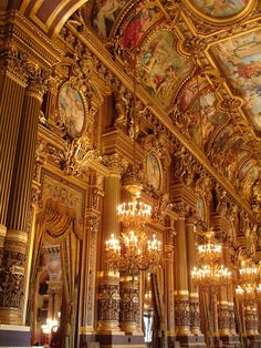 Paris Opéra Garnier, deservedly called Palais Garnier, designed by the architect Charles Garnier commissioned by Napoleon III Architecture Baroque, Art Et Architecture, Beautiful Architecture, Beautiful Homes, Beautiful Places, Simply Beautiful, Paris Opera House, Opus, Amazing Buildings
