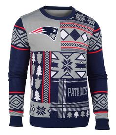 Must have for any Pats fan!! New England Patriots Ugly Christmas Sweater - Free Shipping and International Shipping Available