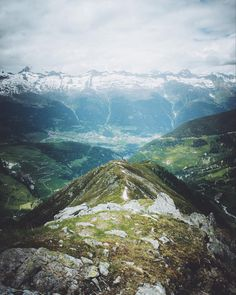 View to a remote Swiss mountain village Mountain Village, Swiss Alps, Switzerland, Remote, Mountains, Nature, Travel, Naturaleza, Viajes