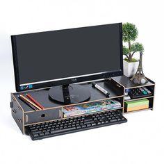 38 best monitor stand images monitor stand diy desk desks rh pinterest com