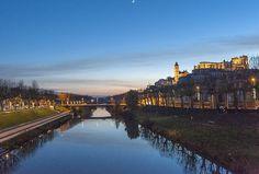 Auch am Abend - ist sie nicht wundervoll, die Hauptstadt des Gers?