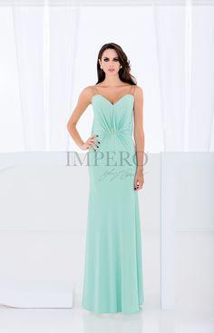 2bc9d483d789 FU 5109  abiti  dress  wedding  matrimonio  cerimonia  party  event   damigelle  verde  green. Impero Couture