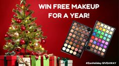Enter the Official #ZenHoliday GIVEAWAY and win FREE makeup for an ENTIRE YEAR! http://upvir.al/ref/10126518 💚💙💛
