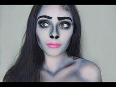 Corpse Bride Makeup Tutorial - YouTube