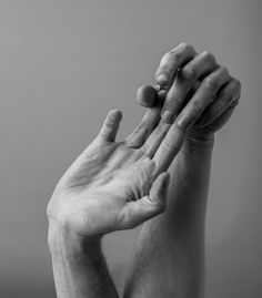 """rootsgrowdeeper: """"johndanner: """"Day 64 """" I think hands are beautiful. """""""