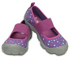 Girls' Duet Busy Day Galactic Mary Jane (children's) | Girls' Shoes | Crocs Official Site