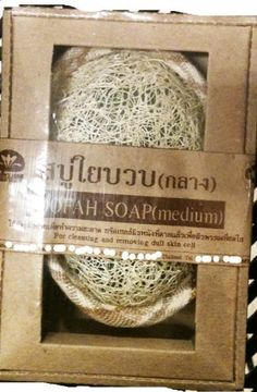 Thai Loofah Soap 50g by Desire Variety Shop. $13.50. Thai Loofah / Luffa soap 50g. Natural loofah and palm soap herb component, etc. Loofah soap for the bath and shower