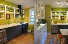 Best of Kitchen Color Decorating Scheme Stylish--I like the green apple color