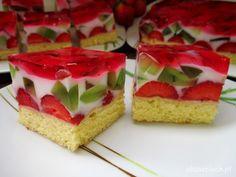 Jello Desserts, Polish Recipes, Summer Fruit, How Sweet Eats, Homemade Cakes, No Bake Cake, Cake Recipes, Cheesecake, Food And Drink