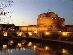 Castel Sant'Angelo #Roma #Rome #TRAST #citylight #love