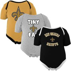 NFL New Orleans Saints Infant 3-Pack Tiny Fan Creepers - Black/Old Gold/Ash (12 Months) Football Fanatics,http://www.amazon.com/dp/B007U1ND5G/ref=cm_sw_r_pi_dp_mA-vtb1XFZPEQMAB