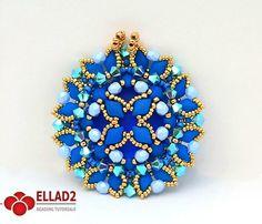 A new beading tutorial with beautiful Diamonduo 2-hole beads.