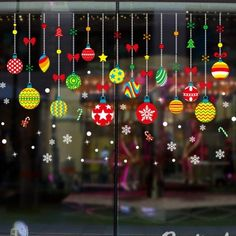 Merry Christmas Shop Window Sticker Santa Claus Snowflake Wall Stickers Removable Home Decal Mural Window Stickers Xmas Decor Christmas Window Stickers, Wall Stickers Window, Wall Stickers Cartoon, Christmas Window Decorations, Wall Stickers Murals, Window Wall, Window Glass, Mural Wall, Door Wall