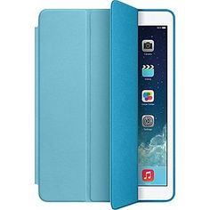 Apple iPad Air Smart Case, Aniline-Dyed Leather, Blue (MF050ZM/A)