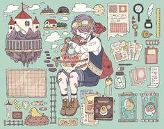 埋め込み Pretty Art, Cute Art, Manga Art, Anime Art, Meet The Artist, Character Design Inspiration, Aesthetic Art, Drawing Reference, Cute Drawings