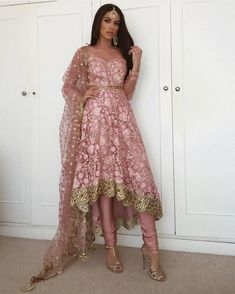52 Indian Outfits Ideas That Trend in 2019 Eid Outfits, Pakistani Outfits, Dress Outfits, Dress Shoes, Shoes Heels, Fashion Outfits, Indian Bridal Wear, Indian Wedding Outfits, Wedding Dress