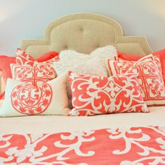 pillows    Lili Alessandra Battersea Quilted Ivory/Ivory Coverlet or Set @Layla Grayce