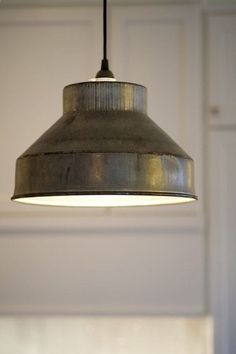 2-3 over dining table. Industrial / Farmhouse Pendant Light by DesignDistressed on Etsy