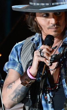Johnny Deep is a Rock Star in the World of Movies! | Johnny Depp is so Hot! | @thedepp.tumblr.com