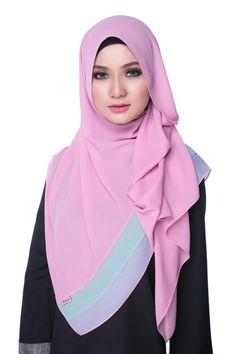 Bikaya Pastel Shawls and Scarves Abaya Fashion, Muslim Fashion, Modest Fashion, Muslim Girls, Muslim Women, Hijab Trends, Hijab Bride, Hijab Tutorial, Beautiful Hijab