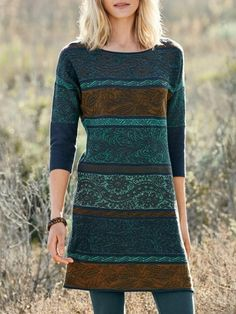 Select casual cotton dresses like the Charla Pima Cotton Tunic Dress from Peruvian Connection for go-everywhere boho style. Ideal designer travel dresses, they are also favorite casual work dresses that are endlessly wearable. Casual Cotton Dress, Casual Work Dresses, Cotton Dresses, Dresses For Work, Vintage Midi Dresses, Floral Dresses, Women's Dresses, Party Dresses, Travel Dress