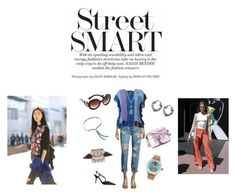 """Street Smart..**"" by yagna ❤ liked on Polyvore featuring Monica Vinader, OneTeaspoon, MASSCOB, Prada, Proff, Rebecca Minkoff, Joomi Lim, Jade Jagger, Avenue and vintage"