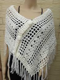 Resultado de imagen para ponchos de lana a crochet