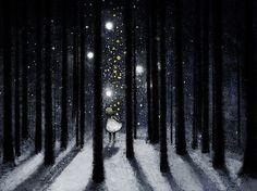 in the dark dark night