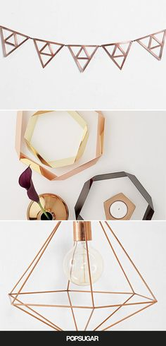 Copper trivets are functional and can be displayed decoratively.