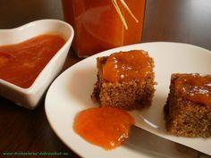 Dobrou chuť: Meruňková marmeláda Kimchi, Meatloaf, Syrup, Preserves, Pudding, Homemade, Desserts, Food, Tailgate Desserts