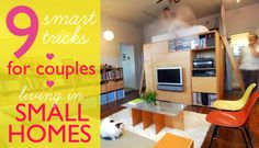 9 Small Living Tips for Couples Trying to Stay Sane in Tiny Apartments | Inhabitat New York City